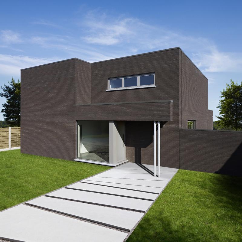Moderne woning met minimalistische stijl