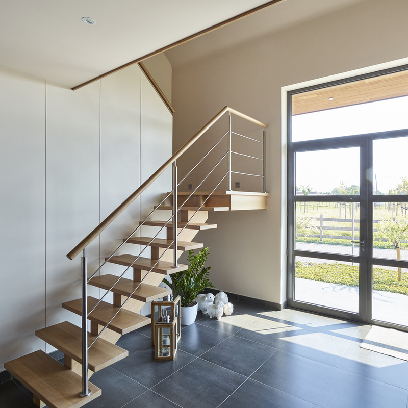 Moderne binnenhuis realisatie