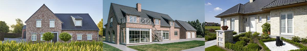 Moderne villa's bouwen