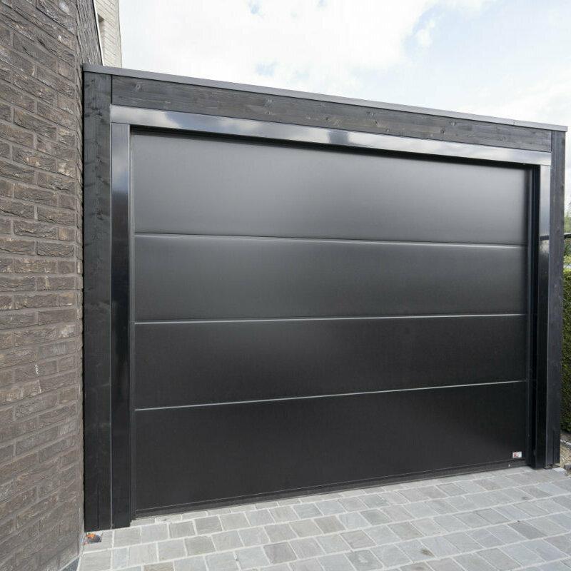 garage bij moderne koppelwoning